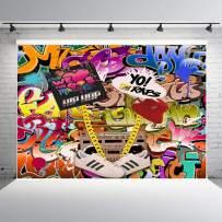 Fanghui We Love The 90s Party Decor Photography Background Hip Hop Graffiti Style Photo Backdrops Studio Props Banner Vinyl 7x5ft