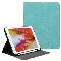 Fintie Case for iPad 9.7 2018 Case with Built-in Pencil Holder - [Slim Shield] Multi Angle Stand Viewing Protective Cover with Auto Wake/Sleep for iPad 2018 9.7 (6th Gen), Turquoise