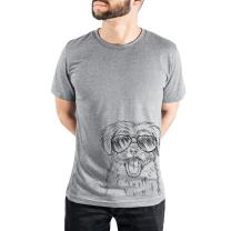 Inkopious Gizmo The Maltese Triblend T-Shirt
