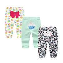 Unisex Baby 3-Pack Long Pants Boys Girls Toddler Cotton Shorts Gift Set