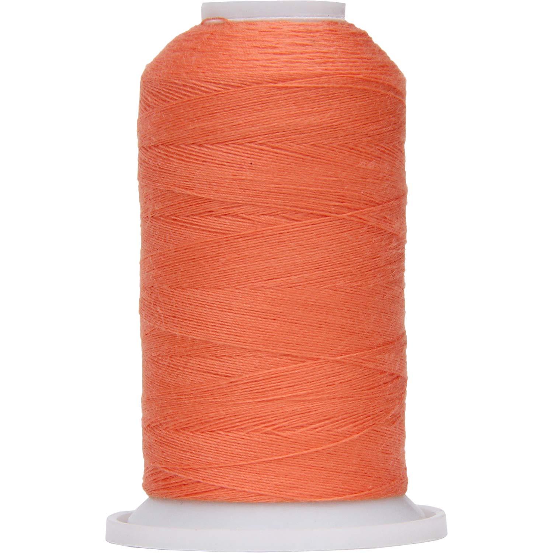Threadart Polyester All-Purpose Sewing Thread - 600m - 50S/3 - Rust