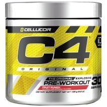 C4 Original Pre Workout Powder Fruit Punch  Vitamin C for Immune Support   Sugar Free Preworkout Energy for Men & Women   150mg Caffeine + Beta Alanine + Creatine   30 Servings
