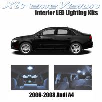 XtremeVision LED for Audi A4 2006-2008 (14 Pieces) Cool White Premium Interior LED Kit Package + Installation Tool