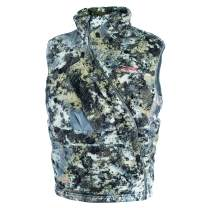 SITKA Men's Quiet Insulated Hunting Fanatic Vest, Optifade Elevated II