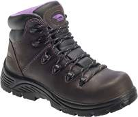 "FSI Avenger Women's Framer 6"" Leather Comp Toe Waterproof Puncture Resistant EH Hiker Work Boot"