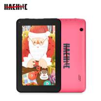 Haehne 7 Inch Tablet PC - Google Android 9.0 Pie, Quad Core, 1G RAM 16GB ROM, 1024 x 600 IPS HD Display, 2.0MP 0.3MP Dual Camera, 2800mAh, WiFi, Bluetooth (Pink)