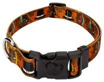 Country Brook Design - Deluxe Dog Collar - Awesome Autumn Collection with 6 Designs You'll Fall for - Made in The U.S.A.