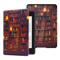 Huasiru Water-safe Case for All-new Kindle Paperwhite (10th Gen - 2018 Release only—Will Not fit Prior Gen Kindle Devices), Library new