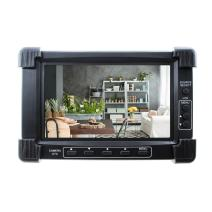 """SumoSecurity 7"""" LCD Test Monitor Supports Up to 5MP TVI+CVI+AHD+CVBS Analog Cameras; HDMI/DVI/VGA Input,12VDC Out"""