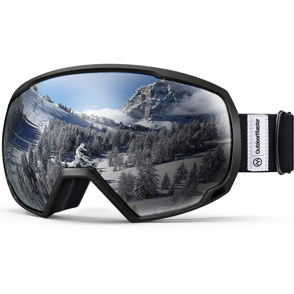 Women /& Youth Over Glasses Ski//Snowboard Goggles for Men 100/% UV Protection OutdoorMaster OTG Ski Goggles