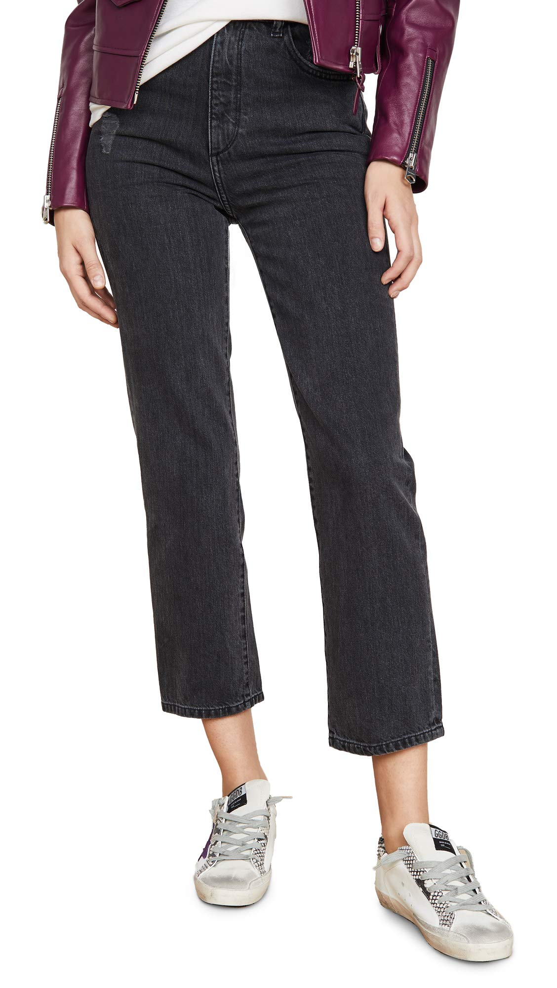 DL1961 Women's x Marianna Hewitt Jerry High Rise Vintage Straight Jeans