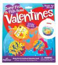 Playhouse Tropical Fishbowl Shiny Foil 28 Card Super Valentine Exchange Pack for Kids