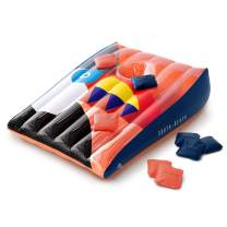 SOUTH BEACH Inflatable Pool Float Games - Tic-Tac-Toe, Cornhole, Beer Pong - Perfect for The Pool, Beach, & Party (Cornhole - Toucan)