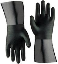"""Artisan Griller BBQ Insulated Heat Resistant Cooking Gloves for Grill and Kitchen, Black (Size 10-12"""")"""