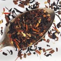 Deluxe Pumpkin Spice Tea - Loose Leaf Premium Tea with Caffeine(1 oz, 15-20 cups) - Made in the USA