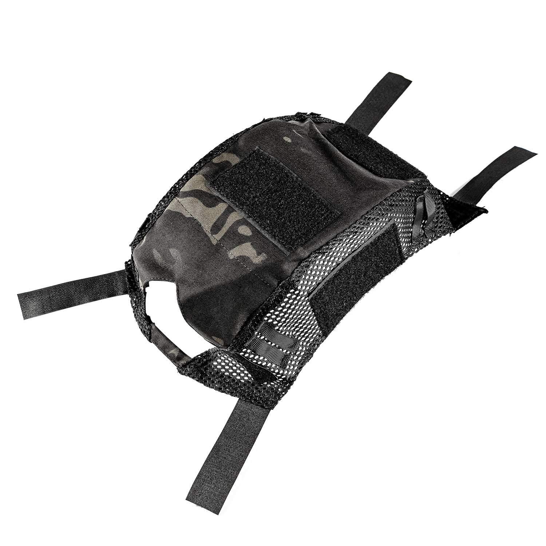 OneTigris Camouflage Helmet Cover Without Helmet 500D Cordura Nylon for Fast PJ Helmet in Size M/L