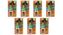 Gorilla Super Glue Gel, 15 Gram, Clear, (Pack of 7)