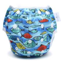 storeofbaby Swim Diapers One Size Snaps for Infant Boys Girls Swimming Lessons