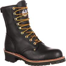 "Georgia Boot Men's 8"" Safety Toe Logger Boot"