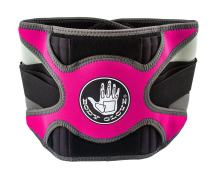 Body Glove Relief Lumbar Compression Support Hot & Cold Therapy Back Support Belt for Back Pain (Pink, Medium)