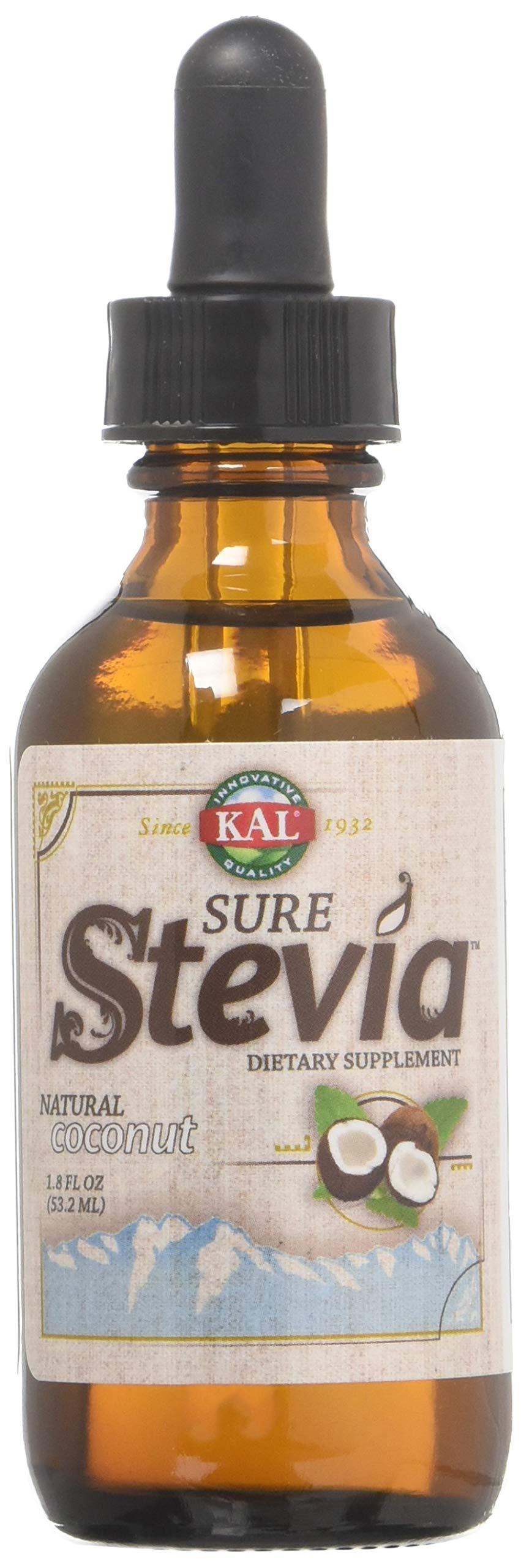 KAL Pure Stevia Extract, Coconut, 1.8 Fluid Ounce