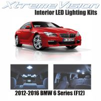 XtremeVision Interior LED for BMW 6 Series (F12) 2012-2016 (7 Pieces) Cool White Interior LED Kit + Installation Tool