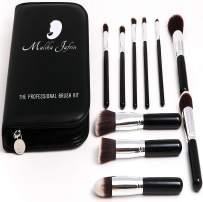 Kabuki Brush - Makeup Brushes for Face & Eyeshadow - Make up Brush for Foundation Concealer Contour Blush Highlight Buffing Blend - Cosmetic Brushes for Powder Liquid Cream - Soft Dense Vegan Bristle