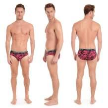Layer 8 Men's 4-Pack Everyday Low Rise Briefs Underwear