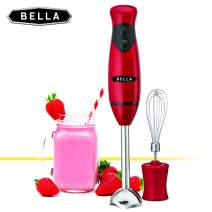 BELLA Hand Immersion Blender with Whisk Attachment