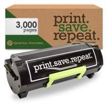 Print.Save.Repeat. Lexmark B2300A0 Remanufactured Toner Cartridge for B2338, B2442, B2546, B2650, MB2338, MB2442, MB2546, MB2650 [3,000 Pages]