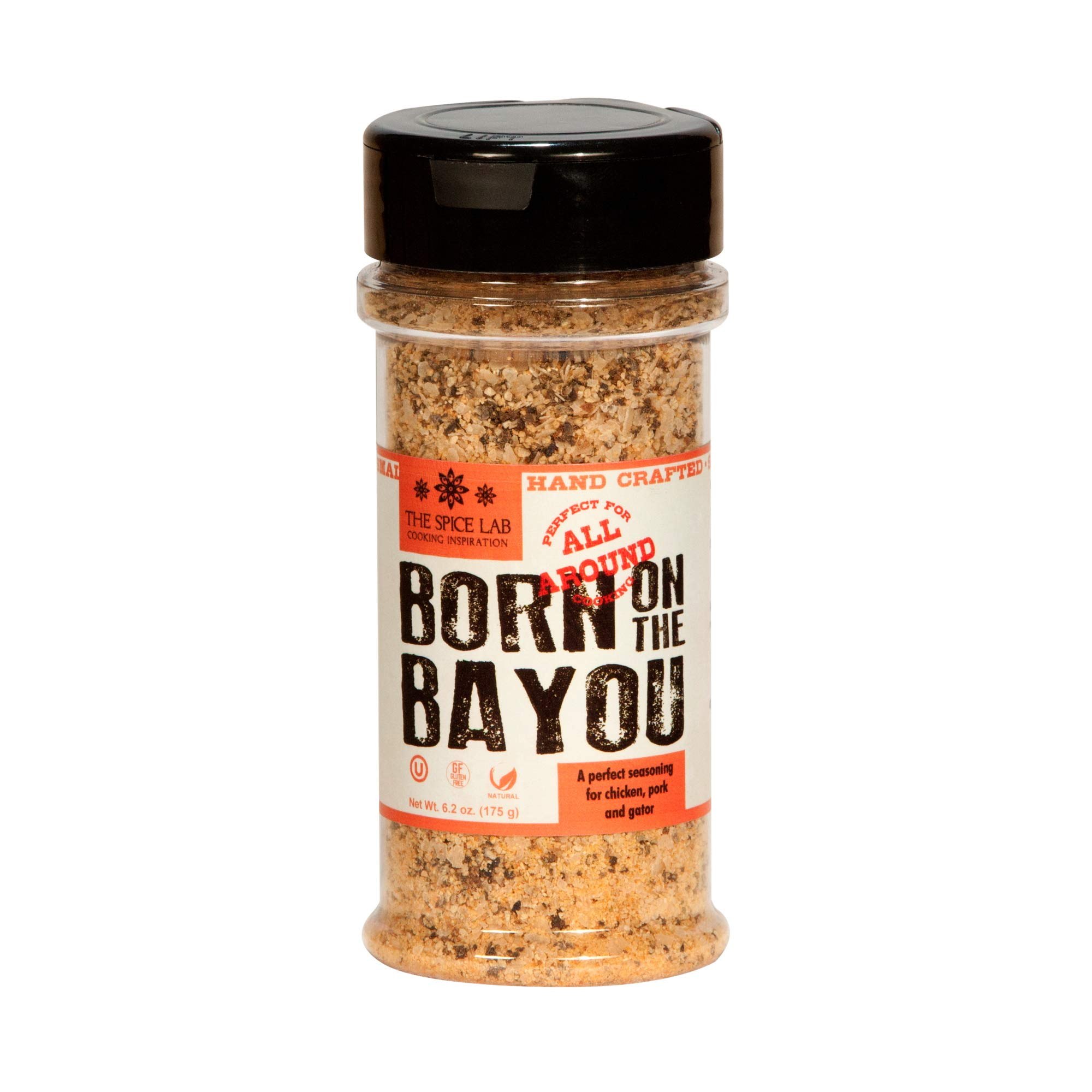The Spice Lab No. 7002 - Born on the Bayou Chicken & Gator Rub - 6.2oz. Shaker Jar