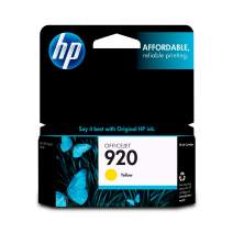 HP 920   Ink Cartridge   Yellow   CH636AN
