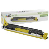 LD Remanufactured Toner Cartridge Replacement for HP 130A CF352A (Yellow)