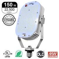 Hakkatronics 150W LED Retrofit Kit with Power Supply (UL/DLC), Replace 600W MH/HPS/HID, LED Retrofit for Parking Lot Shoebox Wall Pack Canopy Flood Light [ 5500K/22500 LM ]