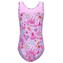 Gymnastics Leotards for Toddler Girls Shiny Lace Dance Outfit Athletic Apparel