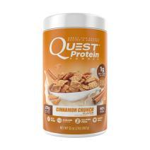 Quest Nutrition Cinnamon Crunch Protein Powder, High Protein, Low Carb, Gluten Free, Soy Free, 2lb Tub