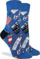 Good Luck Sock Women's Hollywood Movies Socks - Blue, Adult Shoe Size 5-9