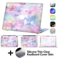 DILIMI MacBook Air 13 Inch Decal Skin,4-Sided Full Set Vinyl Sticker Cover,Protective,Removable and Scratchproof for MacBook Air 13 Model A1369/A1466 (Watercolor)