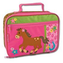 Stephen Joseph Classic Lunch Box, Girl Horse
