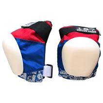 187 Killer Pads Pro Knee Pads - Red / White / Blue - Junior