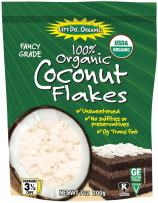 Let's Do...Organic Unsweetened Coconut Flakes, Food Service Size, 25 Pound Bag