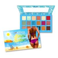 RUDE Bikini Bottom - 18 Eyeshadow Palette
