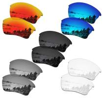 SmartVLT Set of 5 Men's Replacement Lenses for Oakley Half Jacket XLJ Sunglass Combo Pack S01