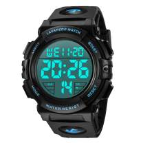 Mens Digital Watch - Sports Military Watches Waterproof Outdoor Chronograph Military Wrist Watches for Men with LED Back Ligh/Alarm/Date