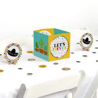 Big Dot of Happiness Let's Fiesta - Mexican Fiesta Party Centerpiece & Table Decoration Kit