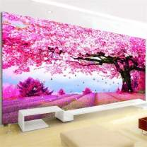 RAILONCH Large DIY 5D Diamond Painting by Number Kits,Crystal Rhinestone Diamond Embroidery Paintings Pictures Arts Craft for Home Wall Decor (150x60CM)