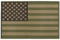 Subdued USA - Jacket Embroidered Flag Patches - Cycle/Tactical