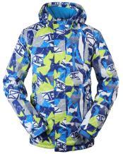 TUONROAD Mens SKi Jacket Waterproof Outdoor Snowboard Snow Jackets with Cap