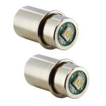 Mag Lite LED Bulb Maglight LED Conversion Kit LED Replacement Bulbs LED Flashlight Bulb White 3-6 C and D Cells 2-Pack