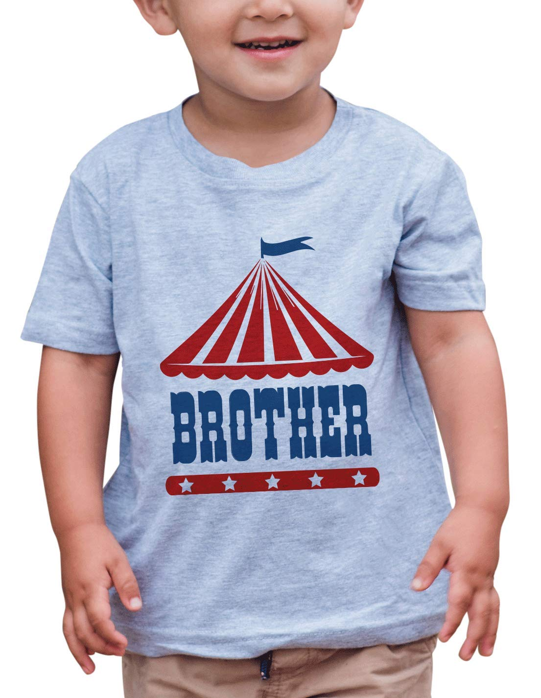 7 ate 9 Apparel Boy's Birthday Brother Circus T-Shirt